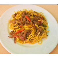 curry beef noodle