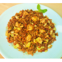curry chicken fried rice
