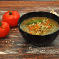 curry chicken noodle soup