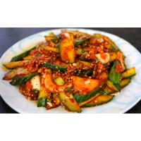 oi muchim – korean cucumber