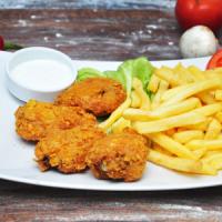 spicy chicken wings menu