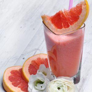 pink grapefruit fresh