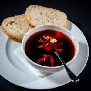 Chilli shrimp soup
