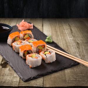 Veggie Uramaki Rolls