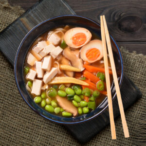 Tofu and Veggie Ramen