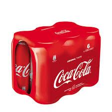 coca cola 6 pack