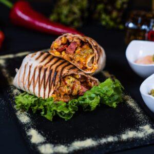 Chorizo Con Queso Burrito