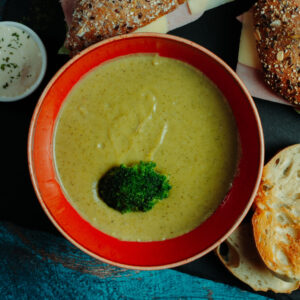 sandwich combo – broccoli cream soup (2)
